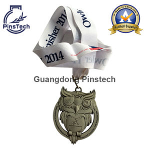 Factory Direct Source, Custom 3D Relief Animal Shape Medal