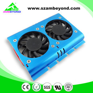 High Quality 2kit Cooling Fan Blue 3.5 Hard Disk Drive HDD Fan for PC