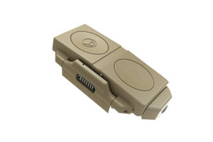 Double LED Flashlight & Laser Tactical Remote Control