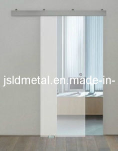 Top Hung Aluminum Track Sliding Door, Tempered Glass Sliding Door, Interior Sliding  Door