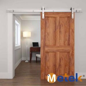Solid Wooden Sliding Closet Door Hardware