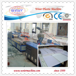 Plastic PVC Ceiling Panel Extrusion Machinery Line (SJ-65/132) pictures & photos