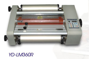 Laminating Machine Double Sides Hot Roll Laminator (YD-LM360R)