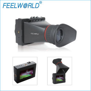 """Feelworld E-350 3.5/"""" EVF Electronic Viewfinder with HDMI Input /& Output"""