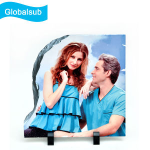 Sublimation Rock Slate Photo Frame Large Right Taper 30*30cm