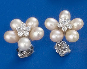 Pearl Earrings Hte107 pictures & photos