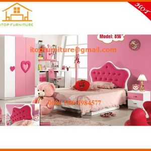 China Pink Children Smart Princess Kids Bedroom Furniture Sets Toddler Hello Kitty