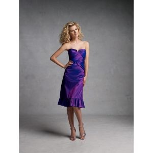 Bridesmaid Dresses a-Line Halter Teal-Length Wedding Party Dress (WPD110224010)