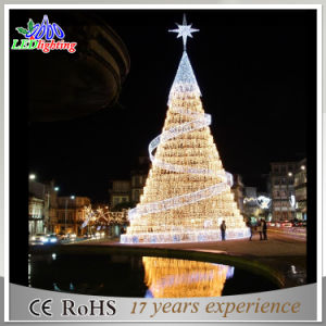 holiday animated large outdoor artificial commercial rated christmas tree