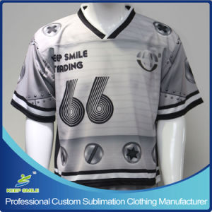 Custom Made Sublimation Unisex Lacrosse Shirt pictures & photos