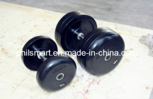 Rubber Exercise Dumbbells pictures & photos
