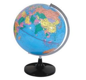 32cm Political Pvc Plastic Desk World Globe Hy320a 1