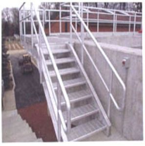 Galvanized/ Zinc Coating Low Carbon Steel Grating Stair Step/Stair Case