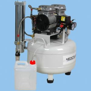 Low Noise 0.8HP 32L Oil Free Air Compressor Moa-E30