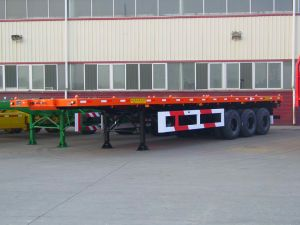Flatbed Container Trailer (TJ 9380)