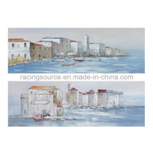 Sea Landscape Canvas Printing Canvas Oil Painting for Wall Art pictures & photos