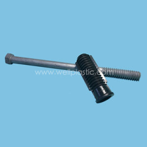 Plastic Bolt Socket with Headed Threaded Bolt HDG pictures & photos