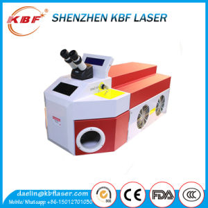 Table 200W High Precision Laser Spot Welding Machine for Jewelry pictures & photos