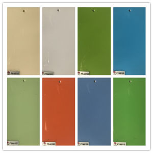 Bright Color 1.2mm Acrylic Board pictures & photos