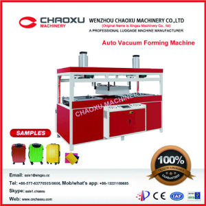 ABS PC Luggage Suitcase Vacuum Forming Machine Production Line pictures & photos