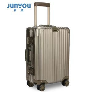 Good Quality New Design 24′′ Aluminum Frame Travel Luggage Set