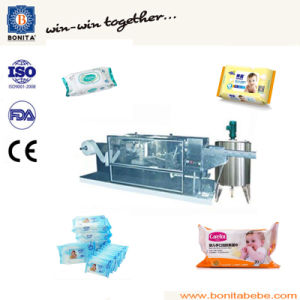 Stainless Wet Wipe Equipment, Wet Tissue Production Line
