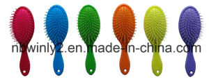 New Handle with Colorful Cushion Hair Brush pictures & photos