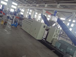 Water-Ring PE/PP Plastic Film/Bag Recycling and Pelletizing/Granulation Agglomeration Production Line
