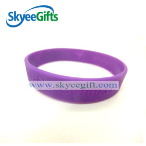 Make Custom Bracelets Debossed Logo Very Cheap Price pictures & photos