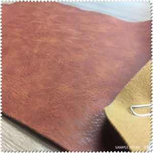 Synethitic Leather & Artificial Leather Abrasion Resistance Waterproof PU Leather (S440130) pictures & photos