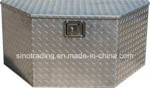 China Trailer Drawbar Aluminium Diamond Plate Tool Box China Tool