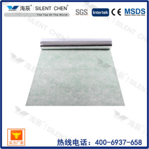 Acoustic Rubber Underlayment with Gold Film