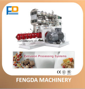 Single Screw Dry Extruder (EXT135G) for Aquafeed and Livestock Feed