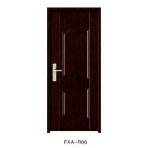 2017 New Design Cheap Price Amercian Steel Door (FXA-R06) pictures & photos