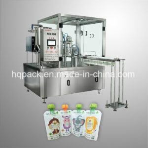 Top Quality Customised Automatic Filling and Capping Machine for Spout Pouch
