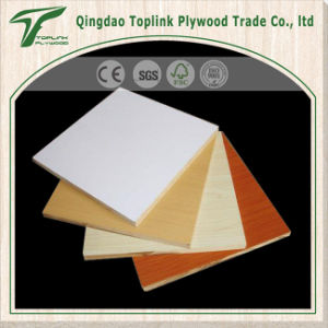 18mm Melamine Coated MDF Board/ Raw MDF Panel / Plain MDF E0 E1 E2 Grade