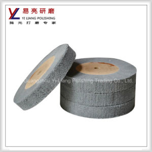 Metal/Copper/Aluminum/Stainless Steel Fine Wire Drawing Non Woven Polishing Wheel