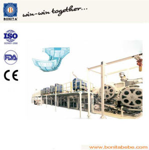 China Semi-Servo Adult Incontinence Pad Machine with Ce (BNT-AD-05)