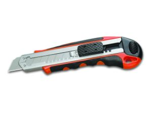 18mm Auto-Reloading Blade Plastic Utility Cutter Knife pictures & photos