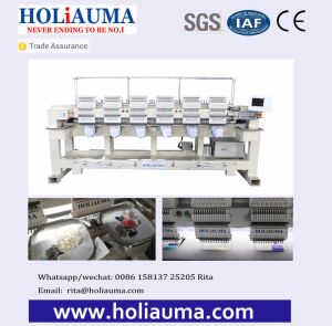 6 Head Machine Embroidery China Cheap Price for Computerized Embroidery Machine Price in India pictures & photos