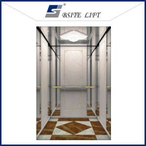 Safe and Smooth Mrl Passenger Lift with Hairline