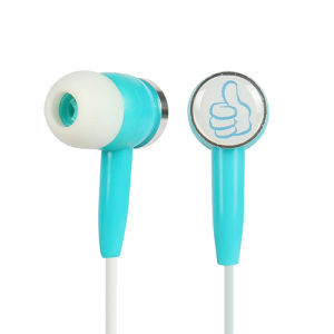 Logo Print Custom Promotion Earphone pictures & photos