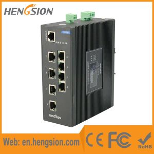 8 Tx and 2 Fx Ports Industrial Ethernet Network Switch