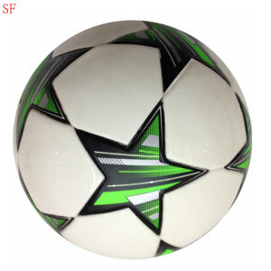 PVC Machine Stitched Soccer Sporting Balls pictures & photos