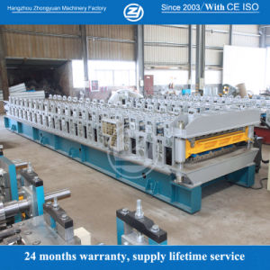 Cr12 Mould Steel Cutter Double Roofing Sheet Forming Machine pictures & photos