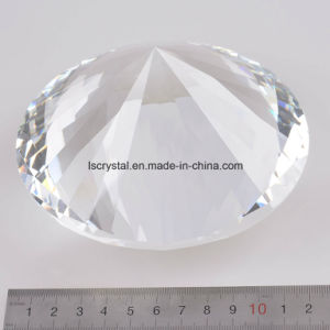 120mm Big Clear Color Crystal Glass Diamond with Base pictures & photos