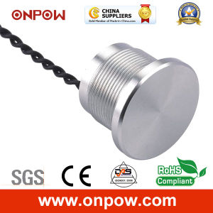 Onpow 22mm Piezoelectric Switch (PS223P10YSS1, CCC, CE) pictures & photos