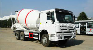 HOWO 6X4 Mixer Truck with 8-10 Cubic Meter Tank pictures & photos