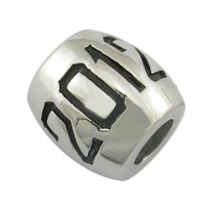 Cheap Metal Custom Engraved Logo Bead pictures & photos
