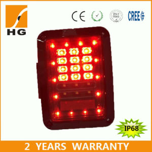Taillights LED Tail Light Replacement Square Jeep Tail Light